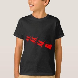 カンガルーのそり Tシャツ