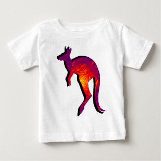 カンガルーのホツプ ベビーTシャツ
