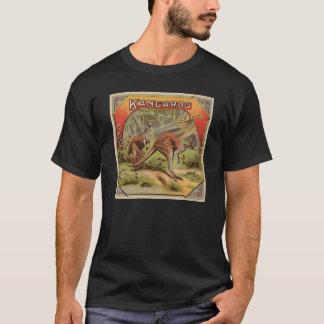 カンガルーの広告のTシャツ Tシャツ