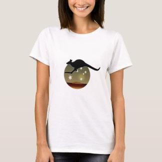 カンガルーオーストラリアアイコンTシャツ Tシャツ