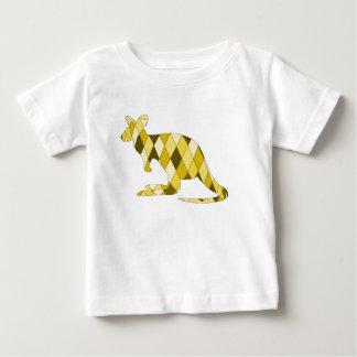 カンガルー ベビーTシャツ