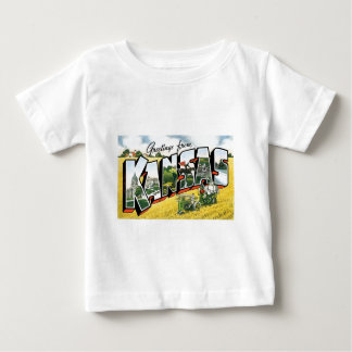 カンザスからの挨拶! ベビーTシャツ