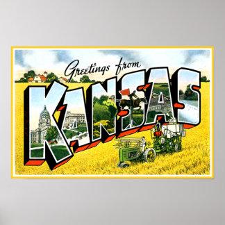 カンザスからの挨拶 ポスター