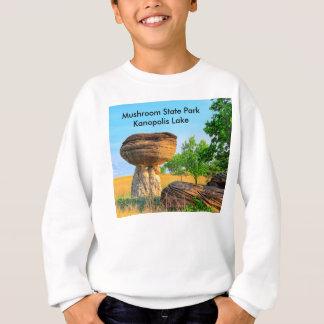 カンザスのきのこの州立公園のセーター スウェットシャツ