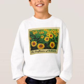 カンザスのヒマワリ スウェットシャツ