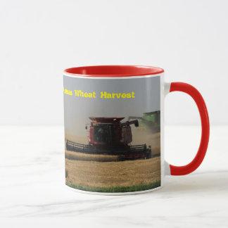 カンザスのムギの収穫のコーヒー・マグ マグカップ