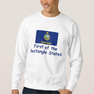 カンザスのモットー スウェットシャツ