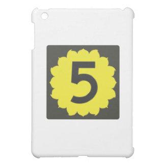 カンザスのルート5の(5)交通標識旅行 iPad MINI カバー
