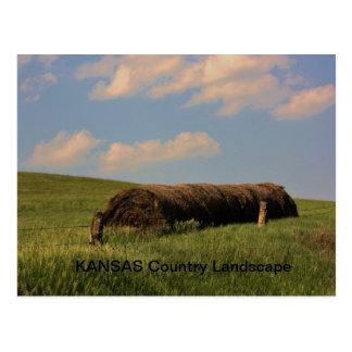 カンザスの国の景色 ポストカード