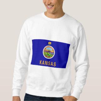 カンザスの旗インターナショナル スウェットシャツ