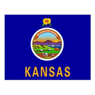 カンザスの旗 ポストカード