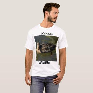 カンザスの野性生物のTシャツ Tシャツ