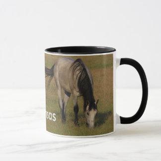 カンザスの馬のコーヒー・マグ マグカップ