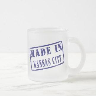 カンザスシティで作られる フロストグラスマグカップ