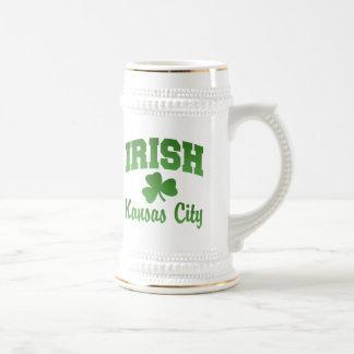 カンザスシティのアイルランド人のマグ ビールジョッキ