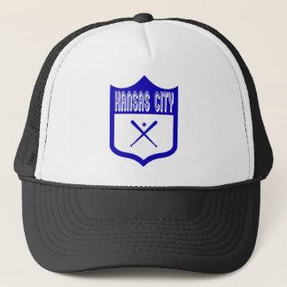 カンザスシティのカスタムな盾Design2 キャップ