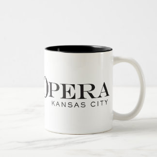 カンザスシティのマグIIIの叙情詩的なオペラ ツートーンマグカップ