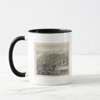 カンザスシティの標準的なヤード、カンザスシティ、カンザス マグカップ