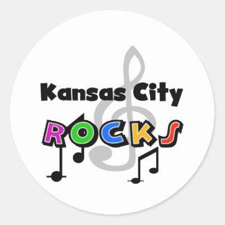 カンザスシティの石 ラウンドシール