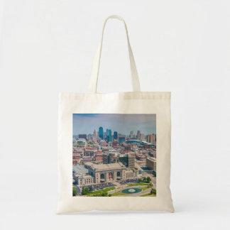 カンザスシティの美しいスカイライン トートバッグ