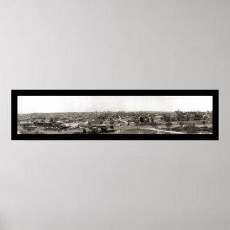 カンザスシティのMOの写真1909年 ポスター