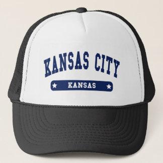 カンザスシティカンザスの大学スタイルのTシャツ キャップ