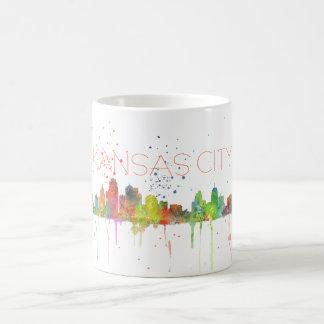 カンザスシティ、ミズーリのスカイライン コーヒーマグカップ