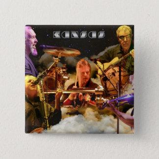 カンザスバンド写真(2012年) 5.1CM 正方形バッジ