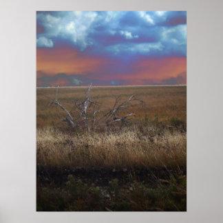 カンザスポスターの燧石の丘 ポスター