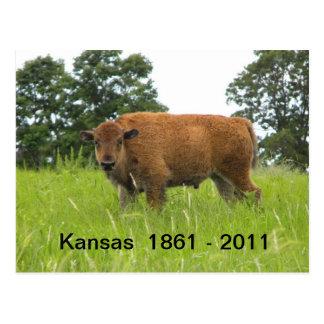 カンザス1861年- 2011年 ポストカード