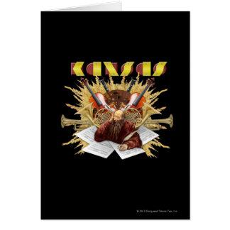 カンザス-交響曲のロゴ カード