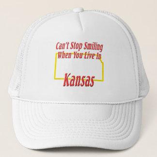 カンザス-微笑します キャップ