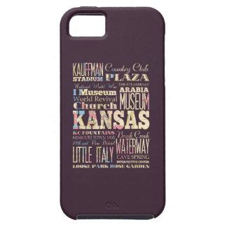 カンザス、米国の有名な場所。 iPhone SE/5/5s ケース
