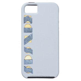 カンザス(青および金ゴールド) iPhone SE/5/5s ケース