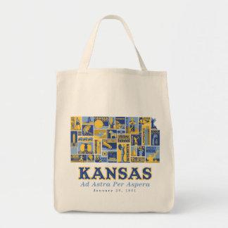 カンザス- Asperaごとの広告Astra -買い物袋 トートバッグ