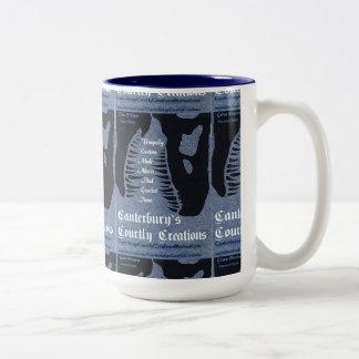 カンタベリーの優雅な創造 ツートーンマグカップ