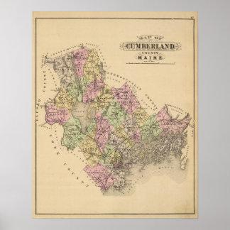 カンバーランド郡、メイン ポスター