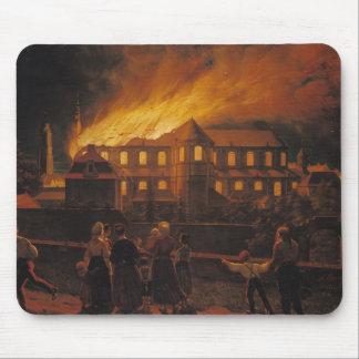 カンブレーのカテドラルの火、1859年9月9日 マウスパッド