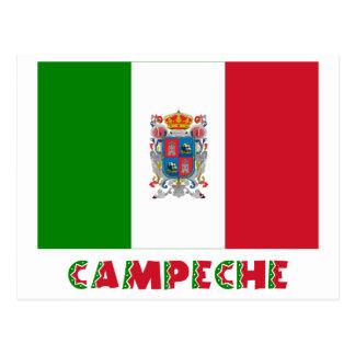 カンペチェの非公式な旗 ポストカード