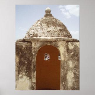 カンペチェメキシコのタワー ポスター