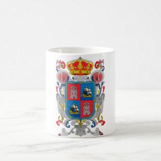カンペチェメキシコの役人の記号の紋章付き外衣 コーヒーマグカップ