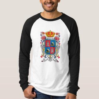 カンペチェメキシコの役人の記号の紋章付き外衣 Tシャツ