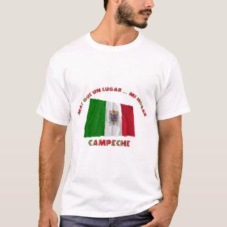 カンペチェ- Más Que国連Lugar… Mi Hogar Tシャツ