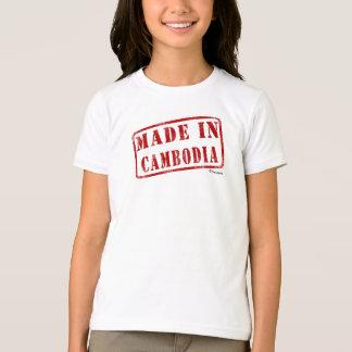 カンボジアで作られる Tシャツ