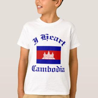 カンボジアのデザイン Tシャツ