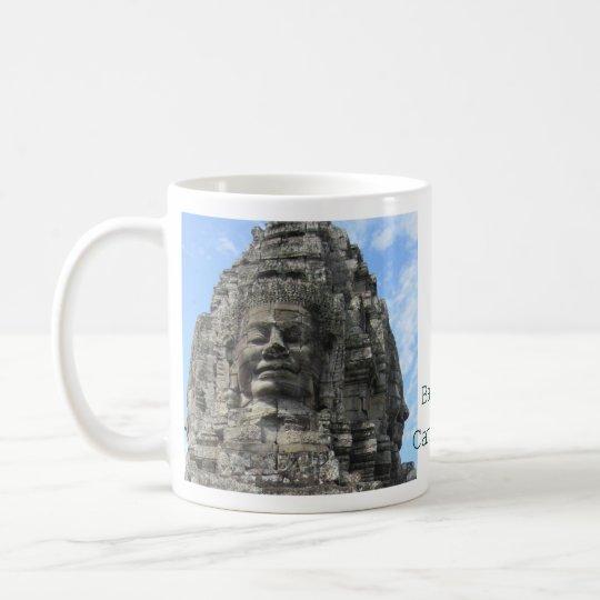カンボジアのバイヨン寺院 コーヒーマグカップ