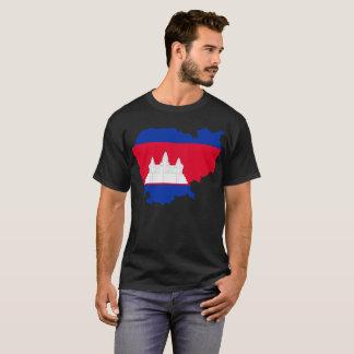 カンボジアの国家のTシャツ Tシャツ