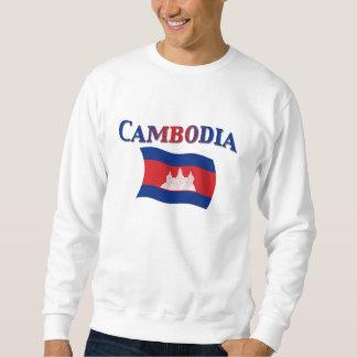 カンボジアの国旗 スウェットシャツ