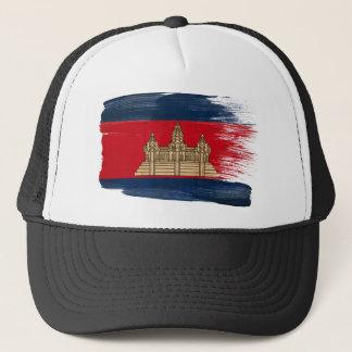 カンボジアの旗のトラック運転手の帽子 キャップ