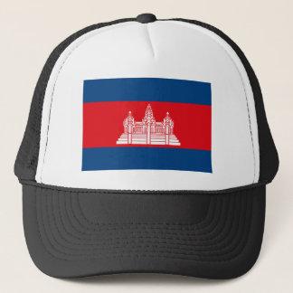 カンボジアの旗の帽子 キャップ
